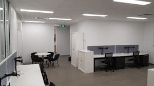 Office electrical installation for Centurion Logistics and Transport services