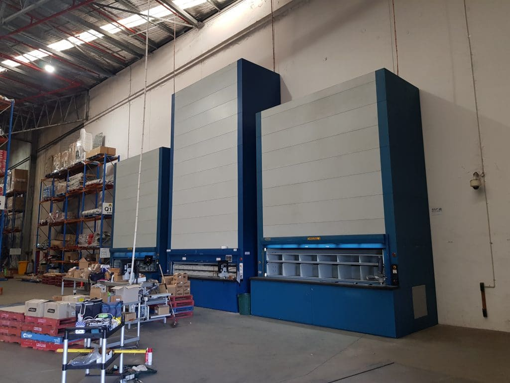 Plant and Machinery relocation Kardex Remstar