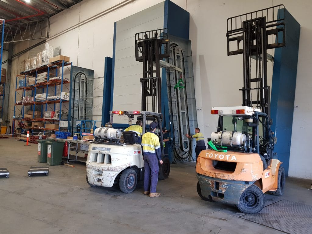 Plant and machinery relocation
