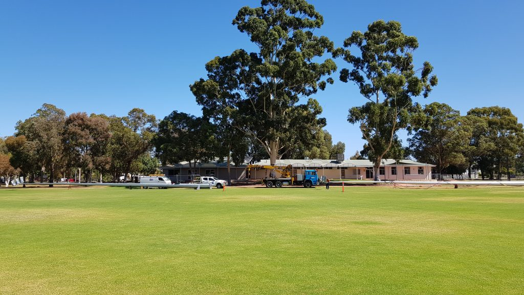 Foster Park light upgrade for Belmont shire
